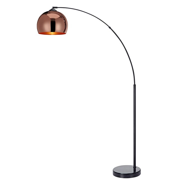 Features:  -Perfect for ages 16 and up.  -Require one 50W E26 bulb. (Not included).  -Arquer collection.  Material: -Iron and plastic. Dimensions:  Overall Product Weight: -25.4 lbs.  Overall Height -
