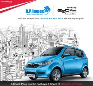 A Sneak Peek into the Features & Specs of Mahindra e20 Plus  | Available in four colors, Coral Blue, Wine Red, Arctic Silver and Solid White, the e20 Plus is somewhat similar and yet different from its sibling, the e20. Read on for more details on the specs & features of this new electric hatchback from the stable of Mahindra.  https://goo.gl/v4wRMx