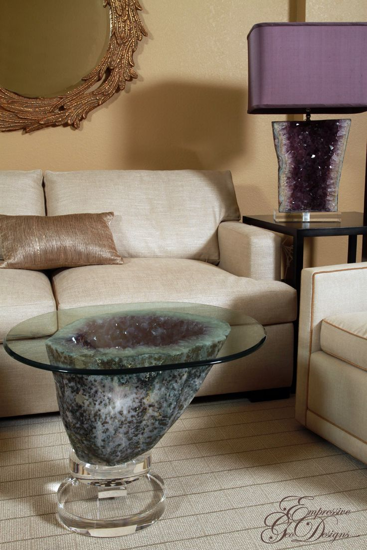26 Best Geode And Fossil Furniture Images On Pinterest
