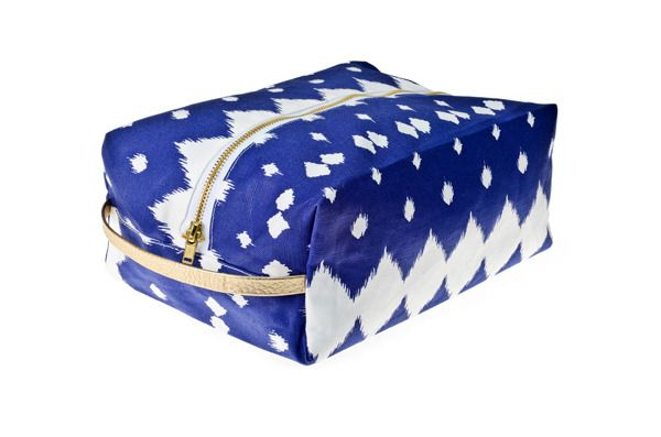 Lattice Dopp Kit - Boho-preppy print toiletry bag! It is waterproof! $49.50