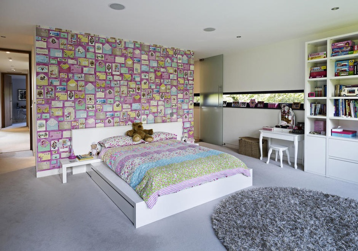 Private residence, Cheshire, child's bedroom. www.curveinteriordesign.co.uk