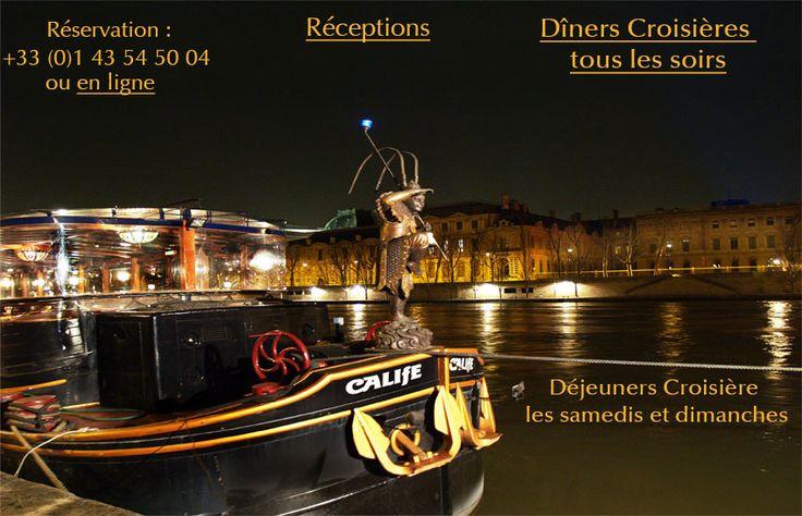 diner croisiere Paris restaurant
