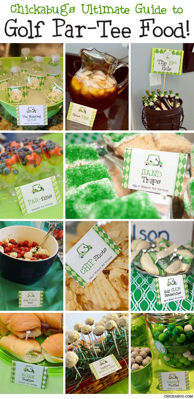 Golf Themed Party Decorating Ideas Part - 30: The Ultimate Guide To Golf Par-Tee Food. Grad PartiesThemed ...