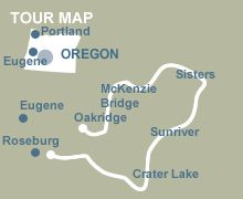 Oregon Crater Lake Bike Tour