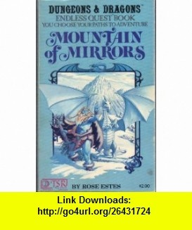 12 best e book electronic images on pinterest before i die mountain of mirrors endless quest book dungeons dragons 9780394527437 rose estes fandeluxe Image collections