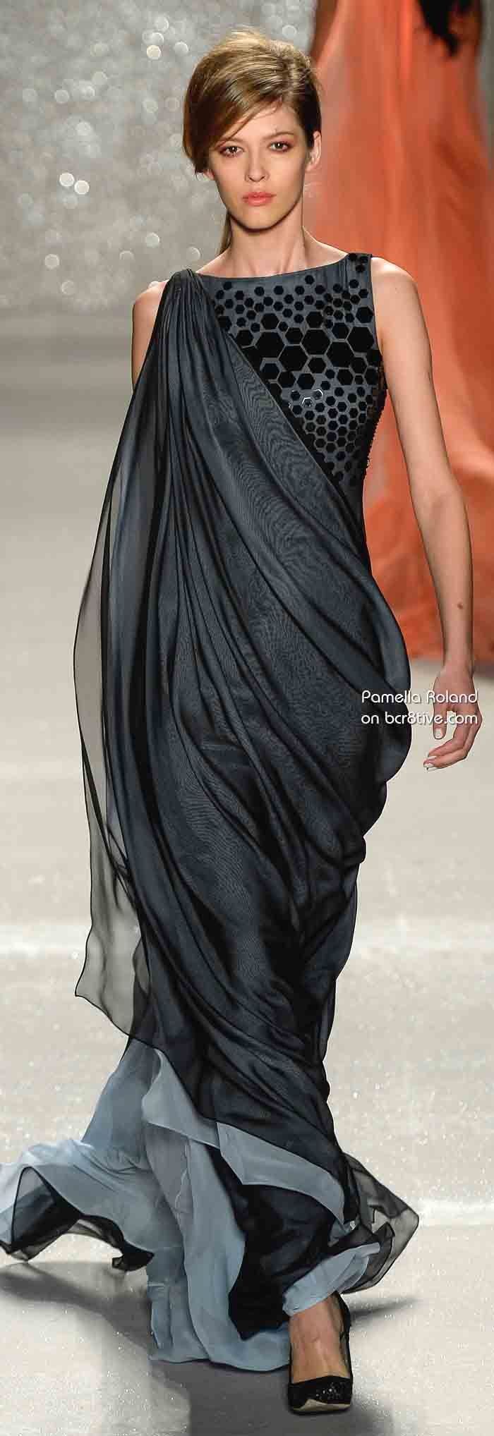 Pamella Roland Spring 2014 New York Fashion Week - bcr8tive