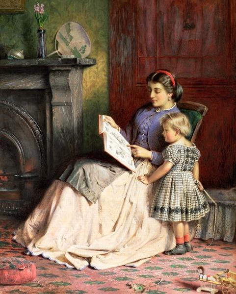 pintura de George Goodwin Kilburne