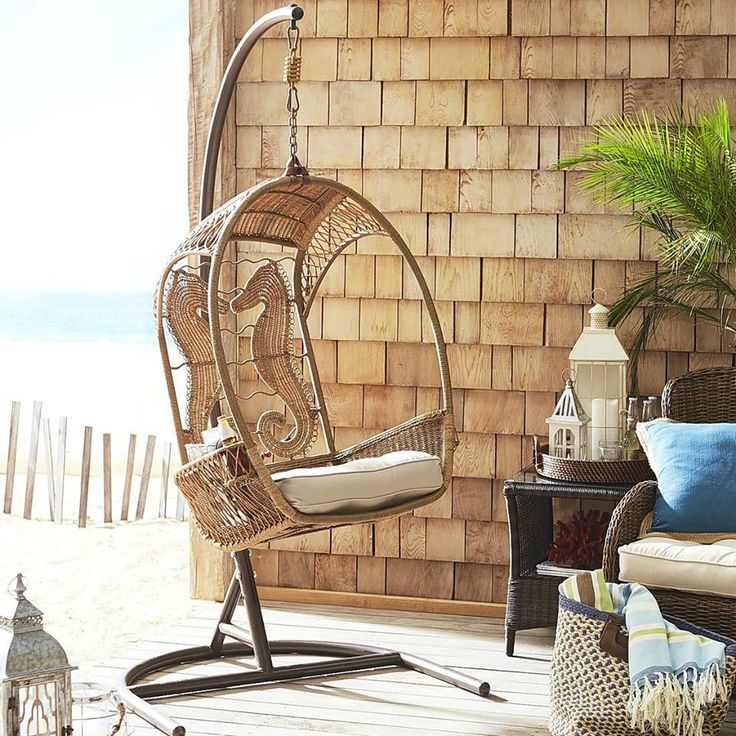 426 best Outdoor Coastal Beach & Nautical Decor Ideas for ... on Nautical Patio Ideas id=56989