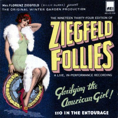 Ziegfeld Follies   Ziegfeld follies, Silent movie, Donovan