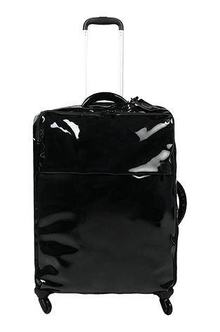 Plume Vinyle Valise 4 Roues 72cm Noir FW15 | Lipault