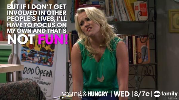 """S1 Ep9 """"Young & Getting Played"""" - #YoungandHungry"""