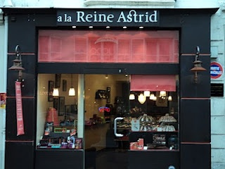 chocolates from La Reine Astrid off the Champs Elysees, Paris.