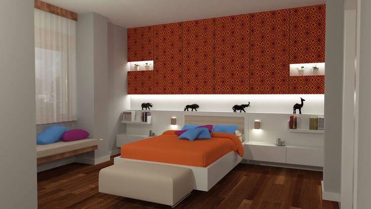 konut iç mekan - yatak odası : Aksesuarlar & Dekorasyon Diff Mimarlık