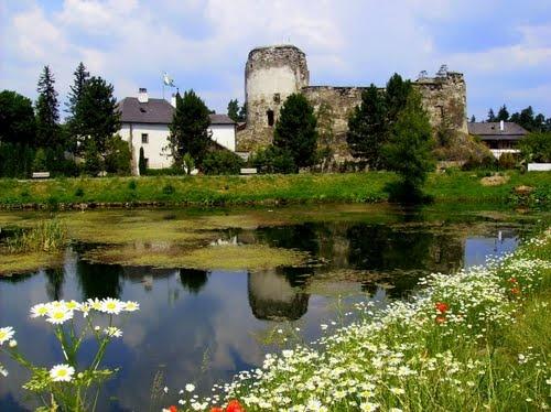 castle in Liptovský Hrádok
