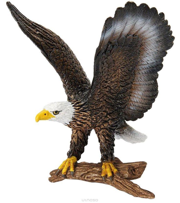 Schleich Фигурка Белоголовый орлан