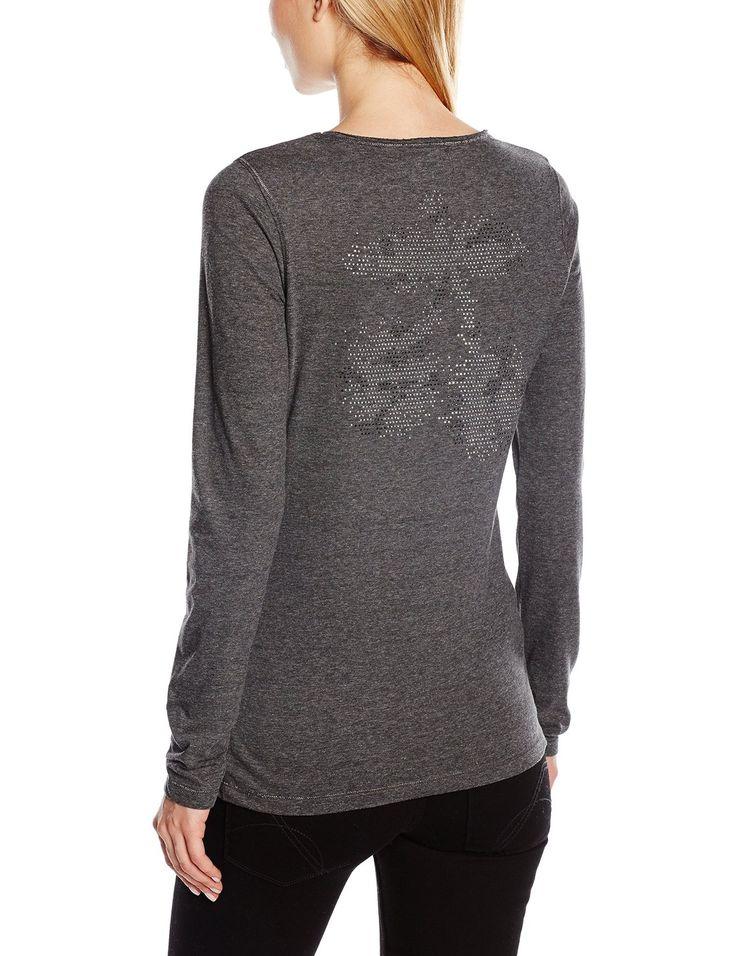 Le Temps des Cerises FALUMINE00000ML - T-shirt - Manches longues - Femme #Vetement #Femme #Temps #Cerises #Tshirt