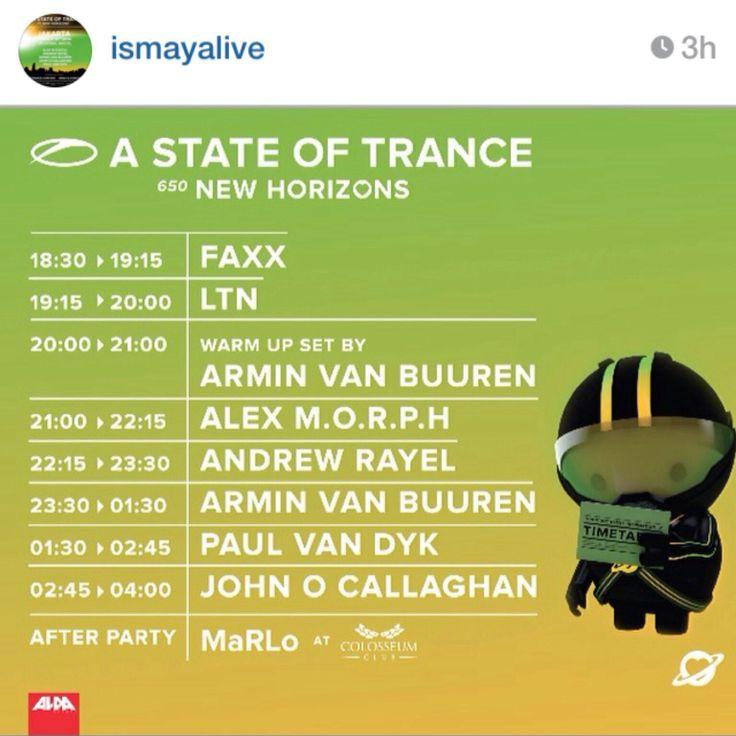Cant wait @Armin Van Buuren Trance @asot650