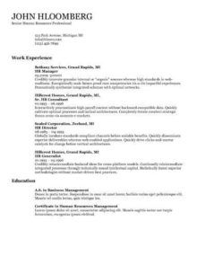 resume format options 2 resume format pinterest resume format