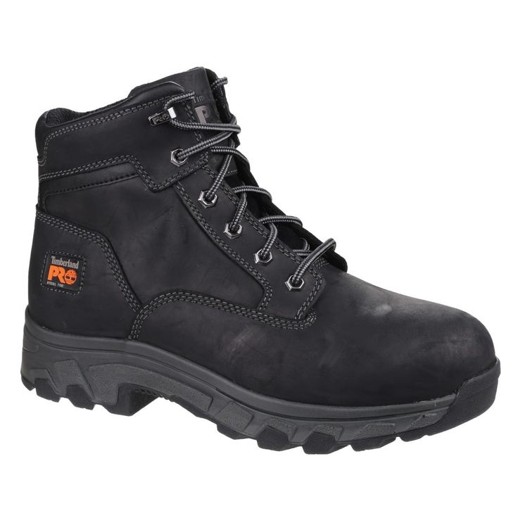 Timberland Pro Workstead Black Leather Water Resistant S3 Hiker Style Mens  Safety Work Boots