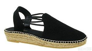 Toni Pons Nuria is a ladies slingback traditional Spanish made espadrille with soft suede leather uppers, elasticated straps, stitch detailing, slight platform and natural jute covered sole. Heel height approx. 30mm. Size: 36, 37, 38, 39, 40, 41, 42. http://www.robineltshoes.co.uk/store/product/171116/Toni-Pons-Nuria-Ladies-Slip-On-Slingback-Espadrille-Sandal/ #summer #espadrille #sandals #womensfashion #shoes #holidays #wedges