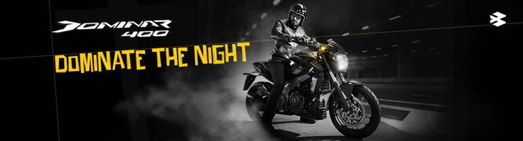 Bajaj auto launched new Bajaj Dominar 400cc bike. Get more details about Dominar 400 price, mileage, average, reviews and specifications at http://www.bajajauto.com/BajajDominar/Dominar400/index.html