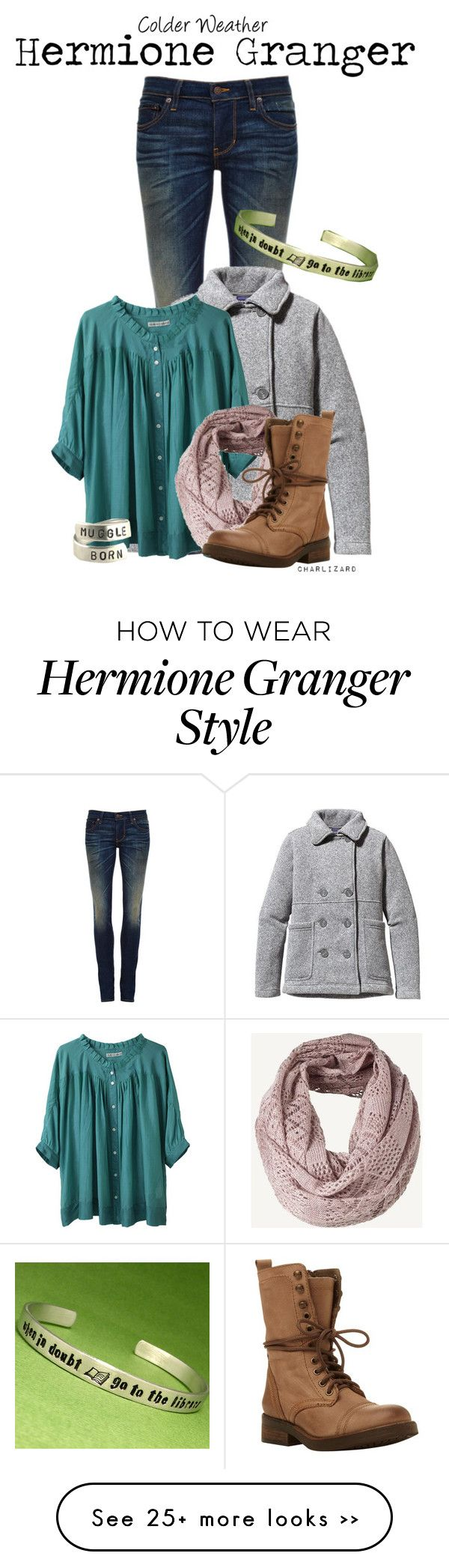 """Hermione Granger"" by charlizard on Polyvore"