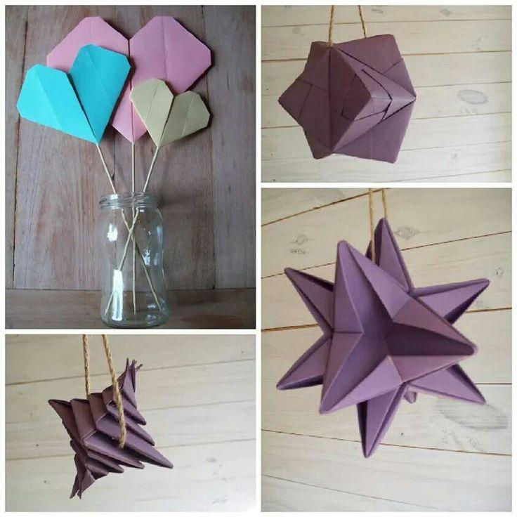 origami objetos