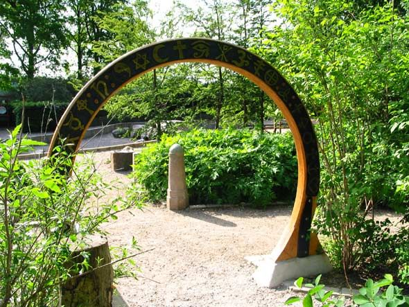 Garden of senses, Fælledparken  - a special place for children. It is the largest sensory garden in Denmark and was the first to be open to the general public. Designed by Helle Nebelong.