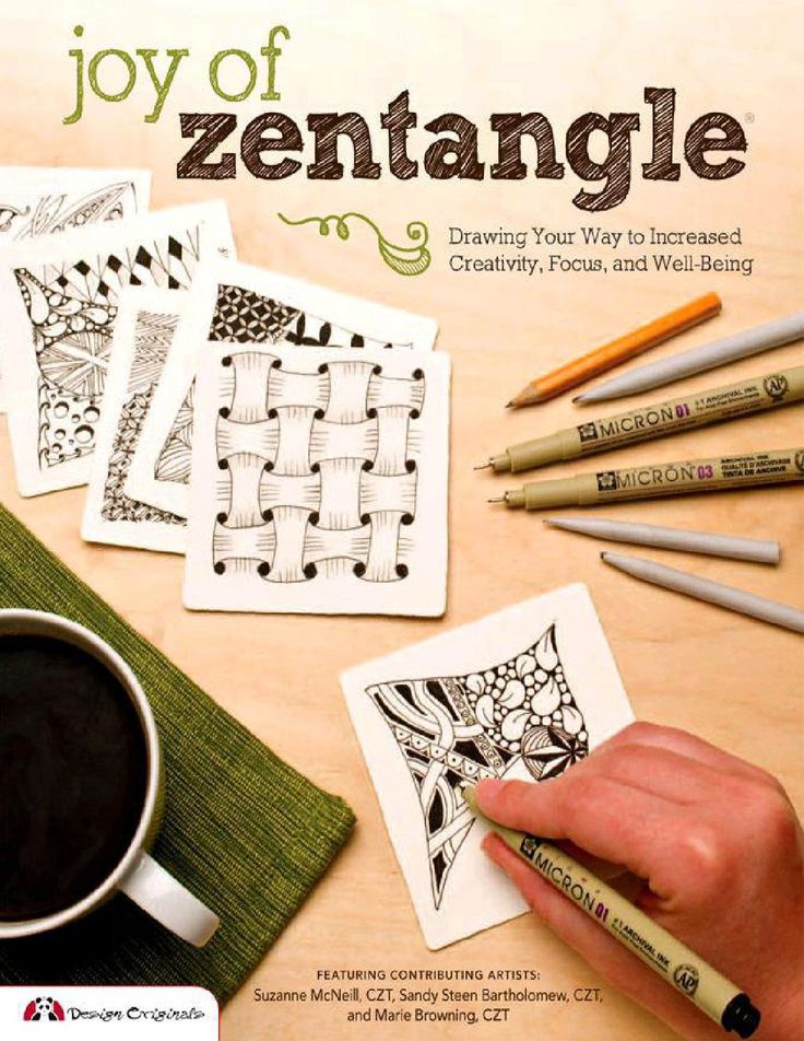ISSUU - Joy of zentangle drawing your way to increased creativity de Dossantos