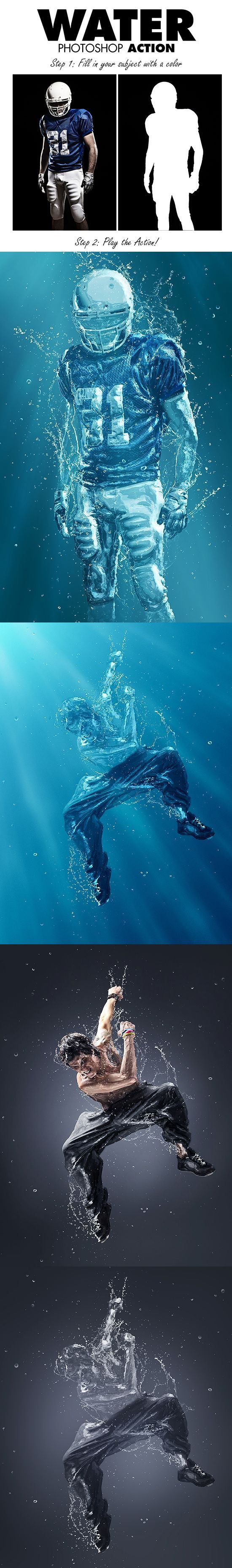 These are really cool pictures, making the subjects seem like they are under water. These are very clearly photoshopped but still are very nice looking.
