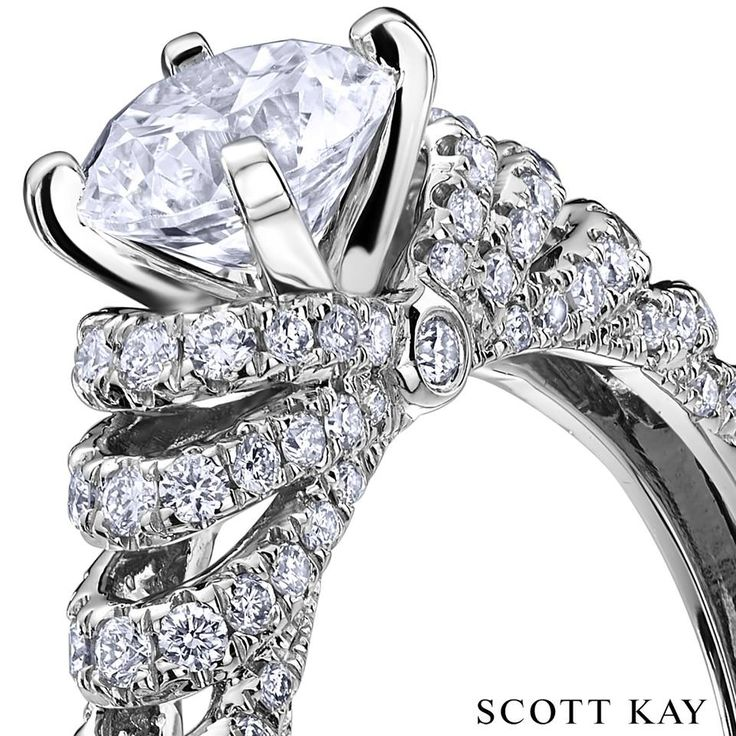 """""""When you're asking someone to spend the rest of their life with you, never compromise."""" Scott Kay Jewelry Studio is the exclusive jewelry store in Montana for the renowned engagement ring designs by Scott Kay.  There are no sales tax charges on jewelry purchases at Jewelry Studio in Bozeman, Montana."""