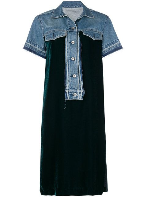 822f0240474 Sacai loose fitted summer dress