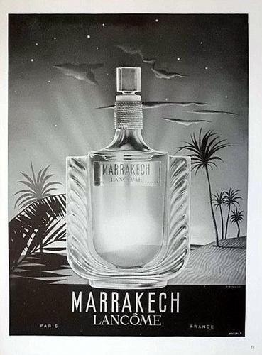 1948 Lancome Marrakech Perfume Ad Original French Advert Print 7727 | eBay