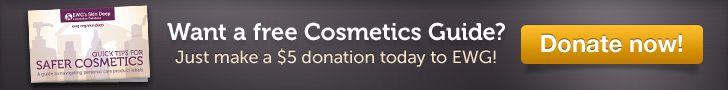 EWG   para consultar sobre os cosméticos