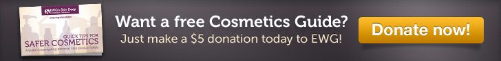 An awesome website that allows you to know the truth about the ingredients in your beauty products.