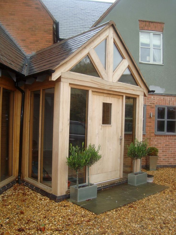 25 best ideas about modern porch on pinterest modern for Porch designs for bungalows uk