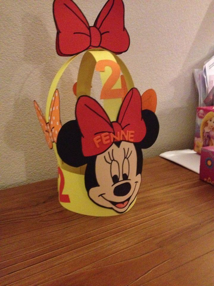 Minnie mouse verjaardagskroon