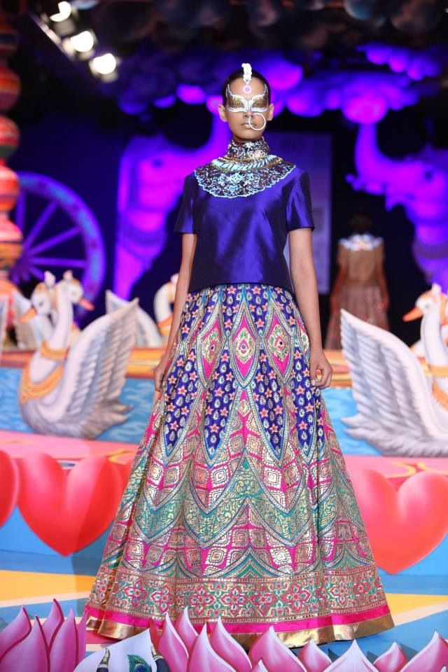 Manish Arora at Delhi Couture Week 2013.