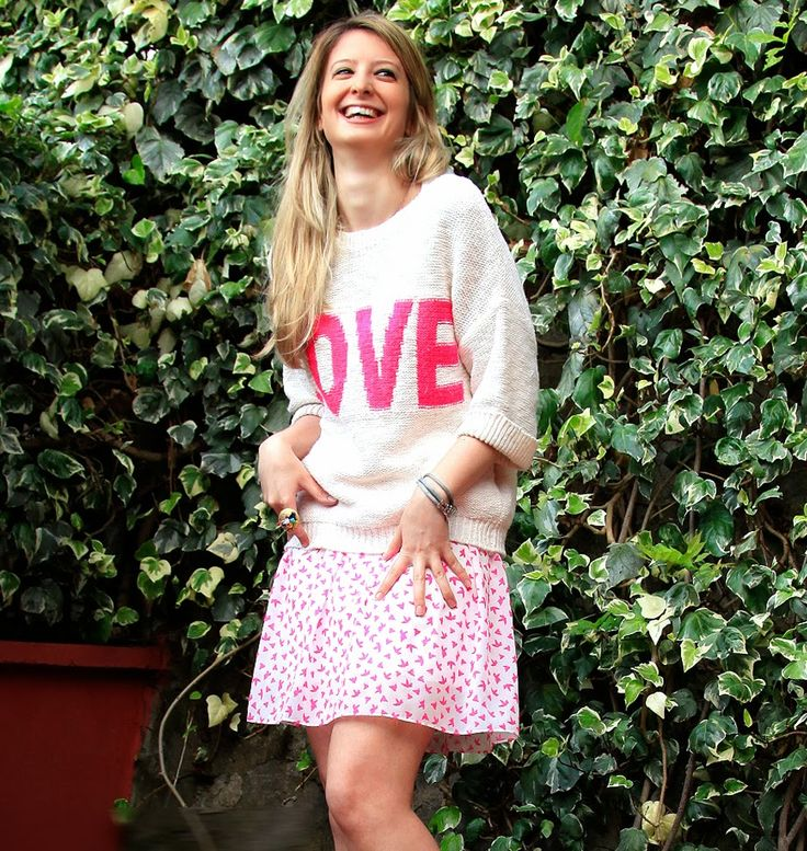 BURCU ARKUT: Skirt and Sweater Together with Designroom - No.03