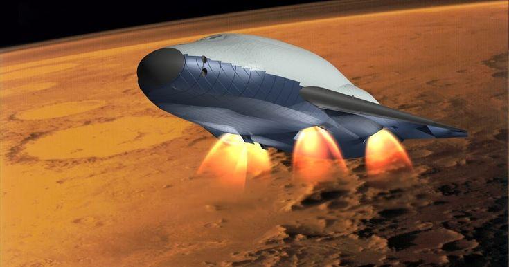 human Mars: Mars Colonial Transporter concept by Richard Heidmann