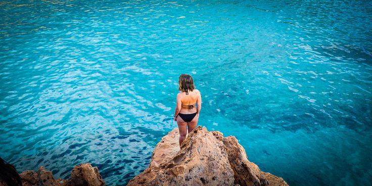 #Azurblaues #Meerwasser, wohin das #Auge reicht © Carina Dieringer/modelirium.at