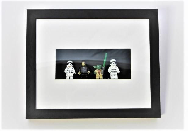 Lego Minifigure Display Case Frame Star Wars The Last Jedi First Order