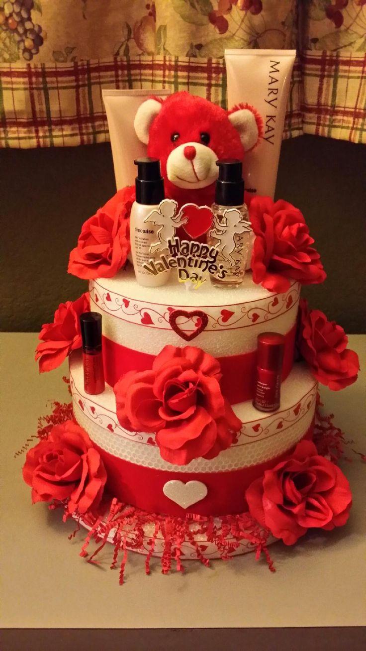 Mary Kay valentine's day foam cake gift.