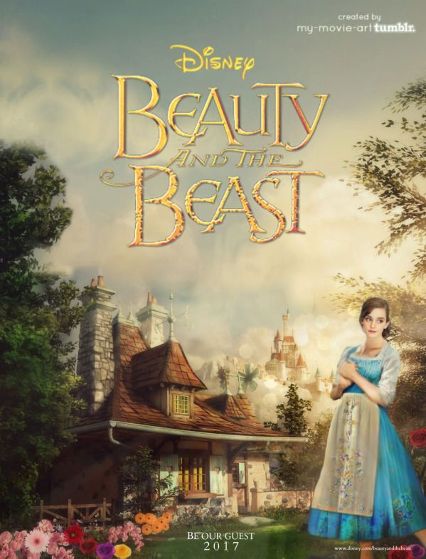 Look how beautiful Emma Watson dressed as Belle in Beauty and the Beast!