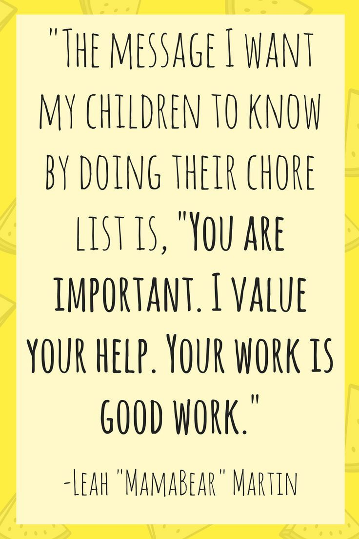 Chore Chart Kids First Easy chores for kids