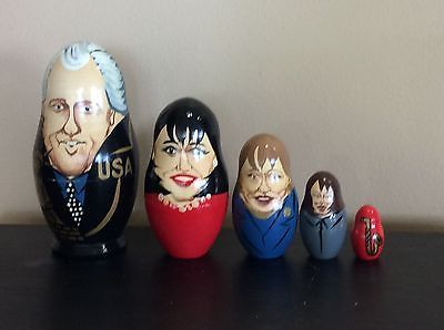 President-Bill-Clinton-Nesting-Eggs-Bill-Monica-Hillary-Paula-And-Saxophone