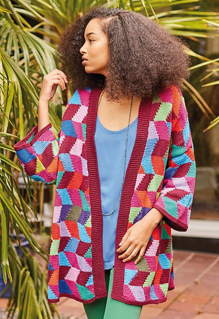 fe491fbe9062c4 A Burst of Colour with Kaffe Fassett (7 Free Patterns)