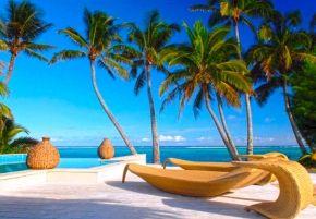 Little Polynesian Resort - Horizon Edge pool #pacificresort #cookislands #rarotonga #littlepolynesian