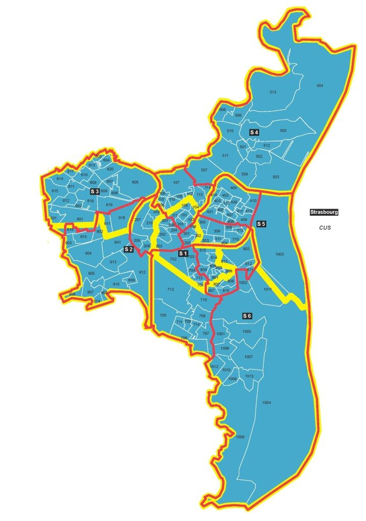 Les nouveaux cantons à Strasbourg (doc CG67)