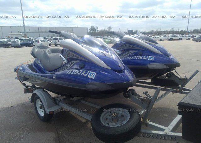 2007 Yamaha Fxho For Auction At Salvagebid Skis For Sale Jet Ski Skiing